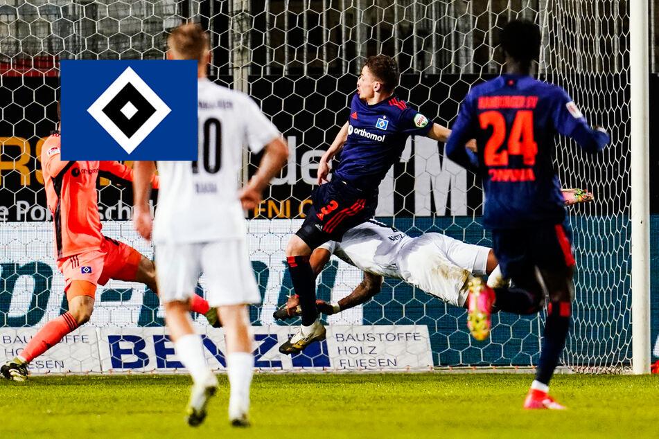 HSV strauchelt beim Vorletzten! Rothosen verlieren gegen Sandhausen