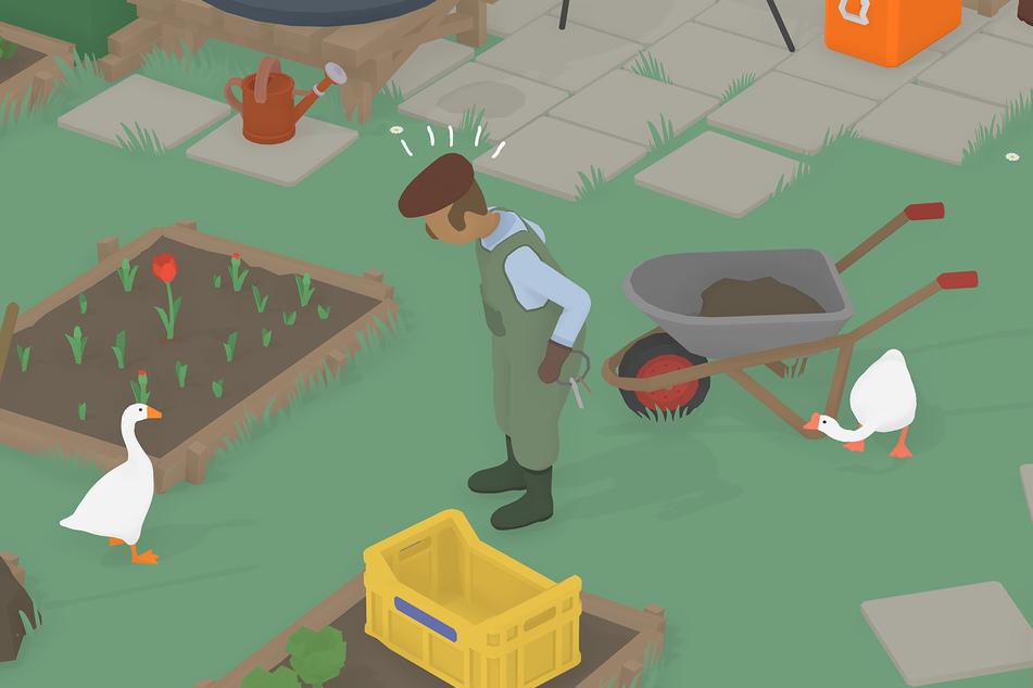 """""""Untitled Goose Game"""" erscheint am 13. Oktober nun auch in physischer Form samt aller Sondereditionen. Als namensgebende Gans können Spieler erneut Schabernack treiben."""