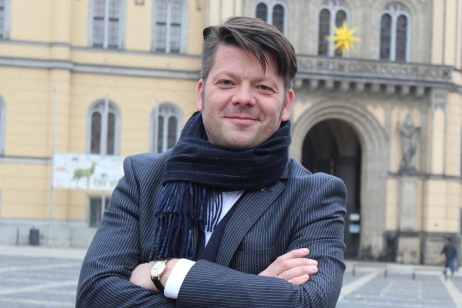 Zittaus Oberbürgermeister Thomas Zenker (44).