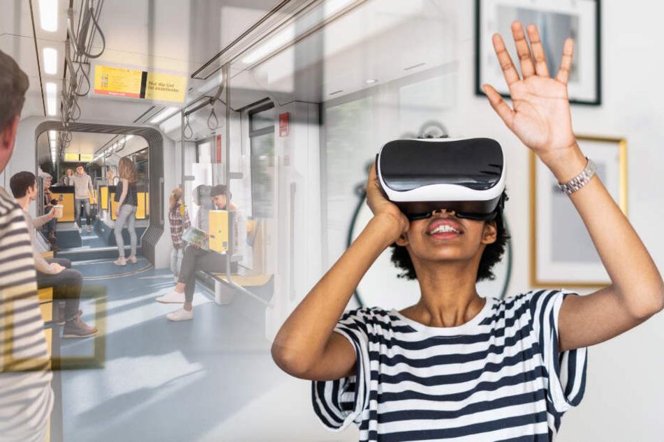 DVB laden zur virtuellen Fahrt in der neuen Bahn