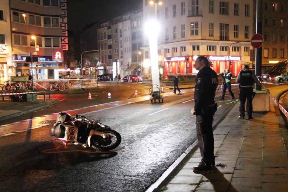 Unfall-Drama am Ebertplatz in Köln: Mädchen sucht verletzten Vater