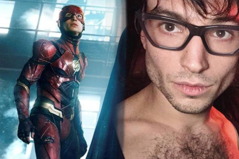 """The Flash""-Darsteller Ezra Miller würgt Frau in einem Video"