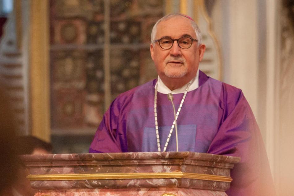 """Warnt vor """"wachsenden Ressentiments gegenüber jüdischen Mitbürgern"""": Bischof Gebhard Fürst."""