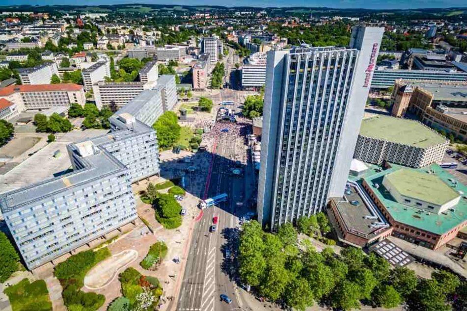 Im Chemnitzer Zentrum erreichten die Linken ihr bestes Ergebnis.