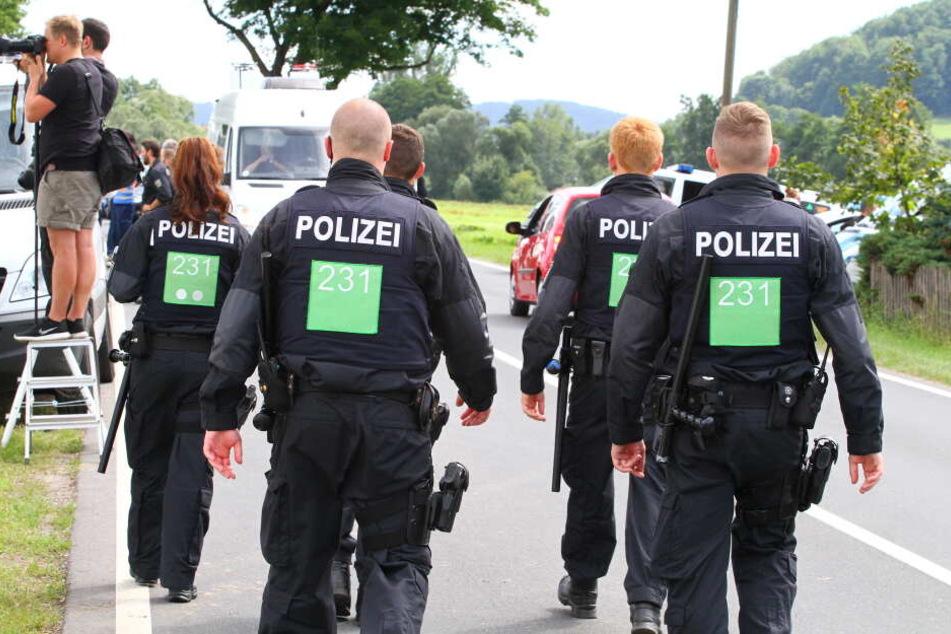 Die Thüringer Polizei habe zu alte Ausrüstung, sagt die Gewerkschaft der Polizei.