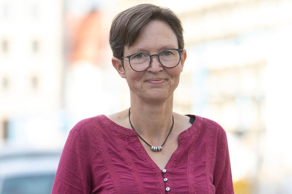 Ulrike Caspary (51, Grüne) will mehr Zebrastreifen für Dresden.