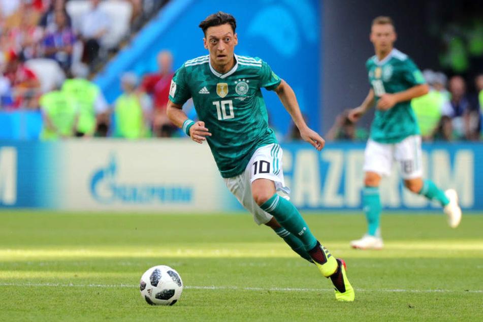 Mesut Özil wird wohl nie wieder für Deutschland auf dem Feld stehen.