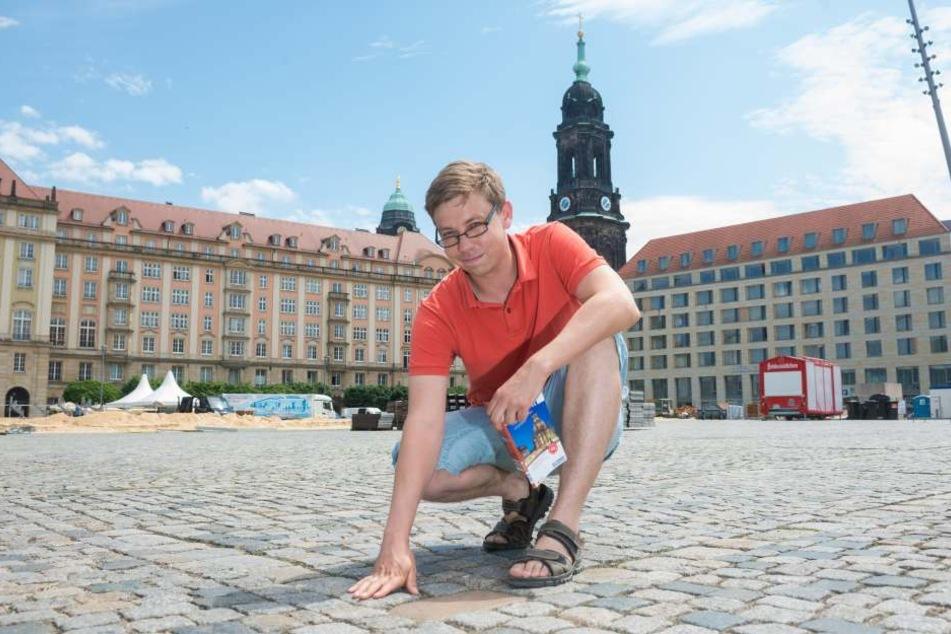 Jagdszenen am Altmarkt! Darum mussten die Dresdner das Rathaus abreißen