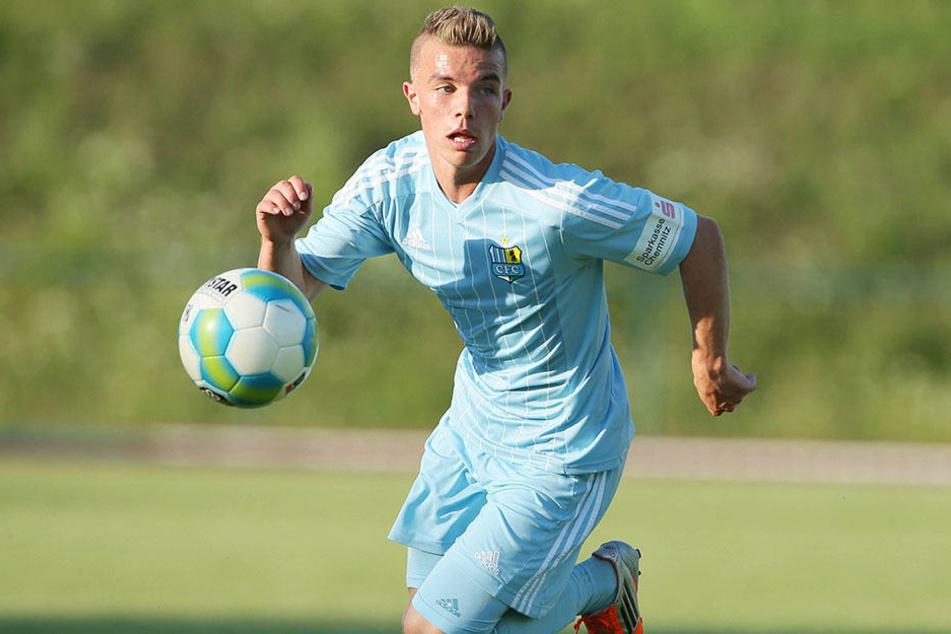 Christian Mauersberger stammt ursprünglich aus der Nachwuchsabteilung des CFC.