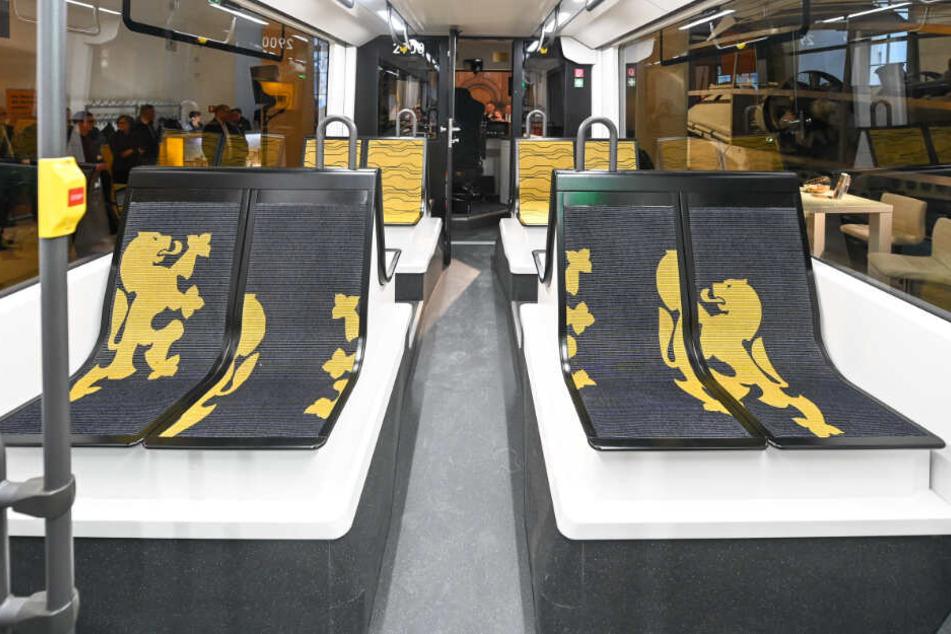 Der Chemnitzer Prototyp einer neuen Straßenbahn sorgte für viel Aufsehen in Dresden.