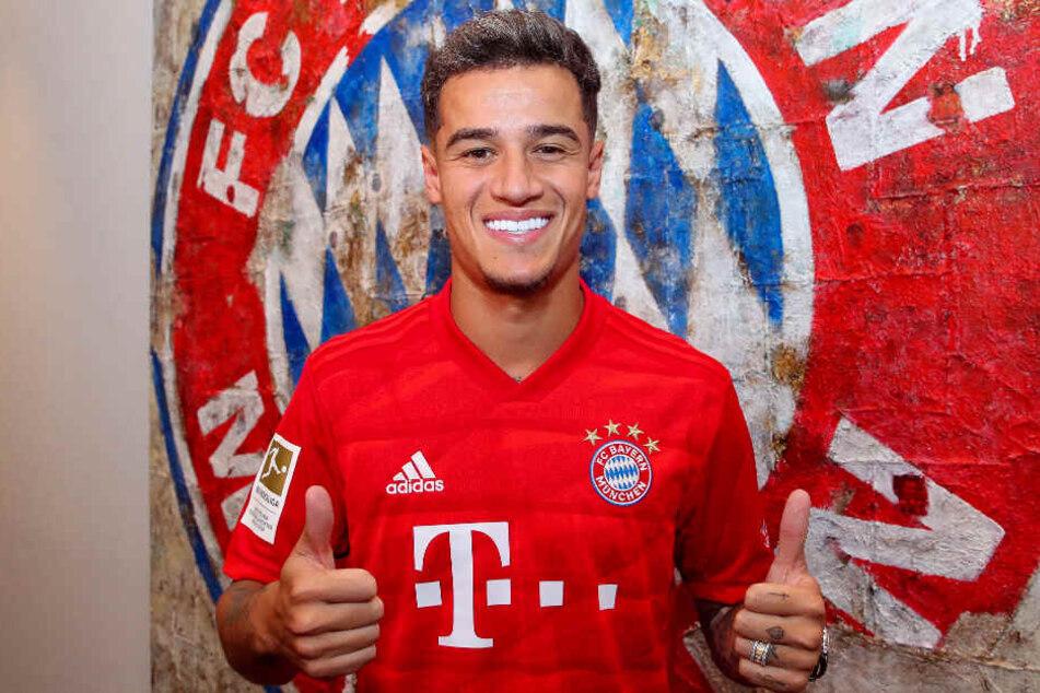 Philippe Coutinho soll dem FC Bayern helfen, möglichst viele Titel zu gewinnen.
