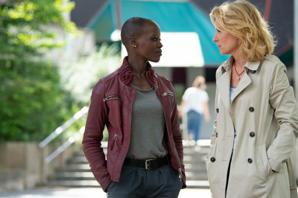 "Die in Uganda geborene Florence Kasumba (41) ist die erste farbige ""Tatort""-Kommissarin. Sie ermittelt mit Maria Furtwängler (51) in Göttingen."