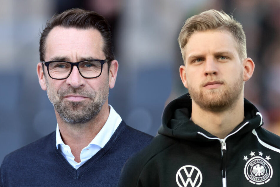 Arne Maier (r.) durchlief die Hertha-Jugend und ist gerade mit der deutschen U21 in Italien bei der EM unterwegs. (Bildmontage)