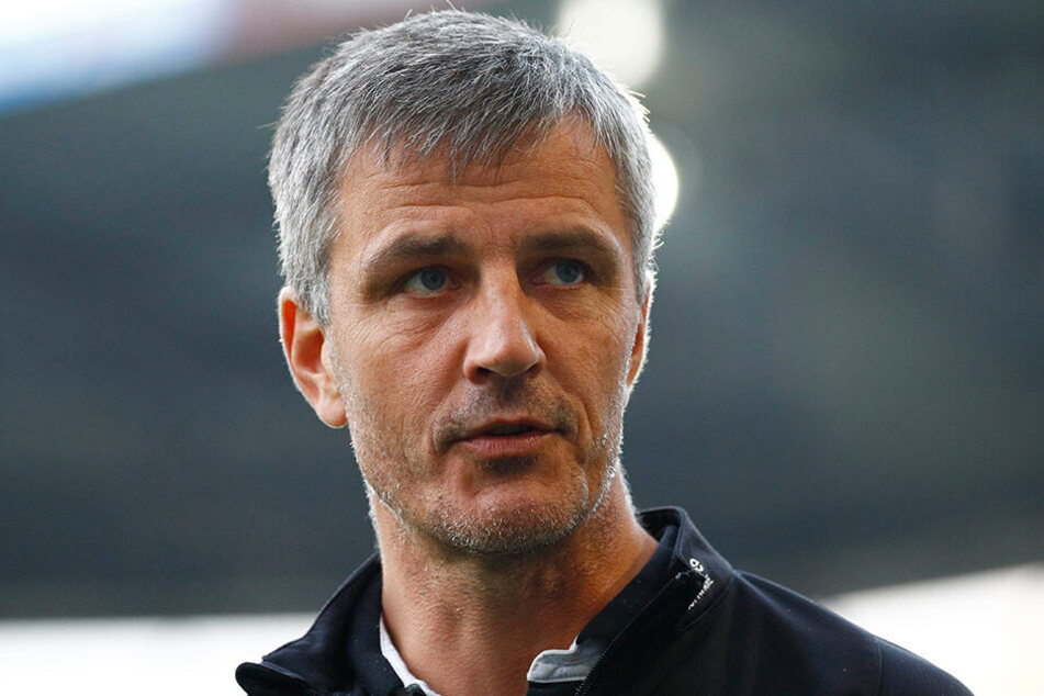 """Hansa Rostocks neuer Trainer Jens Härtel verlor sein erstes Pflichtspiel mit der""""Kogge""""."""