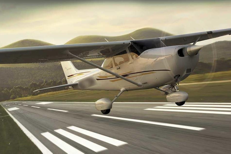 Auch eine Cessna 172 war am dem Unglück beteiligt (Symbolfoto).