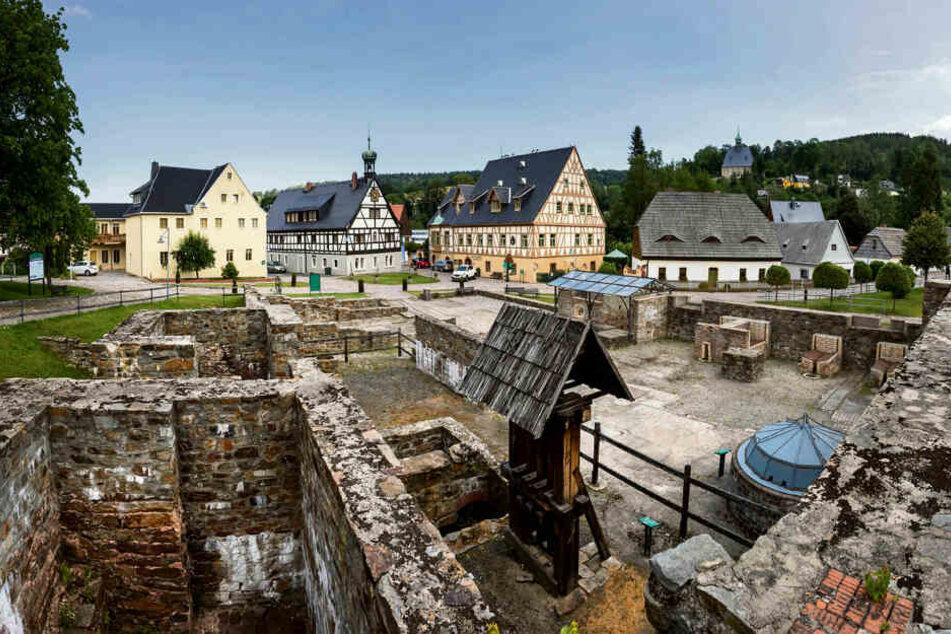 Das denkmalgeschützte Areal um die Saigerhütte gehört in Olbernhau zum Aushängeschild für das Weltkulturerbe.