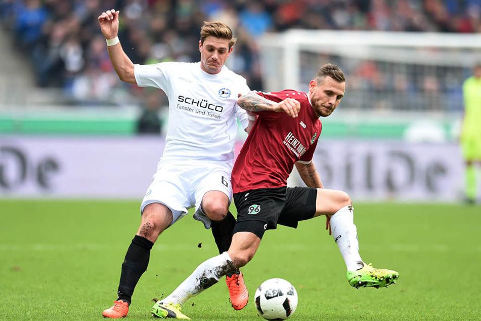 Das Spiel der Arminen war von Kampf geprägt.