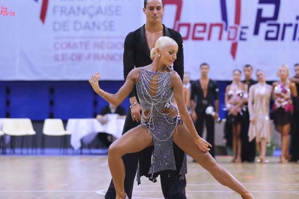 Anna Matus und ihr Tanzpartner Gabriele Goffredo gewinnen den Super Grand Prix der Latein-Professionals. (Archivbild)