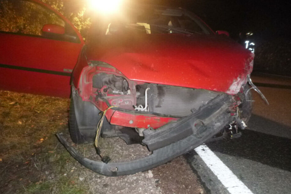 An dem Unfallauto entstand ein wirtschaftlicher Totalschaden.