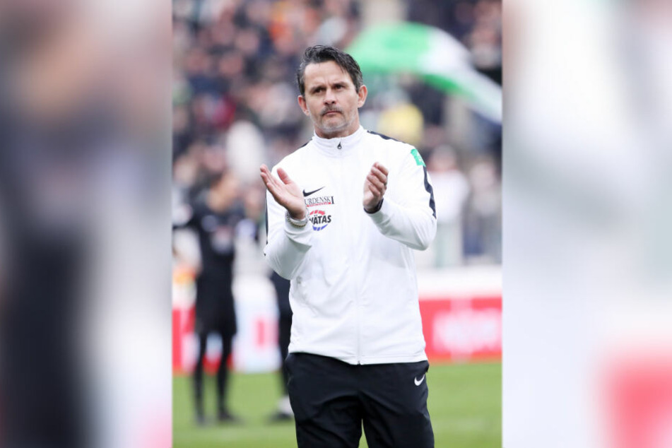 Beifall spenden, das will FCE-Trainer Dirk Schuster am Sonntag gegen Kiel.