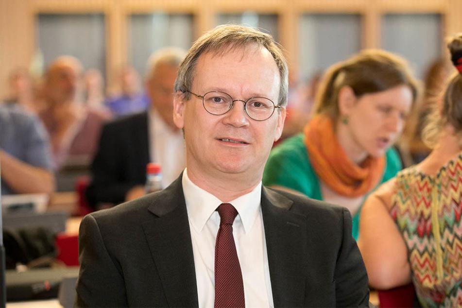Befürwortet Wohnungen für Menschen statt für Autos: Linke-Stadtrat Tilo Wirtz (50).