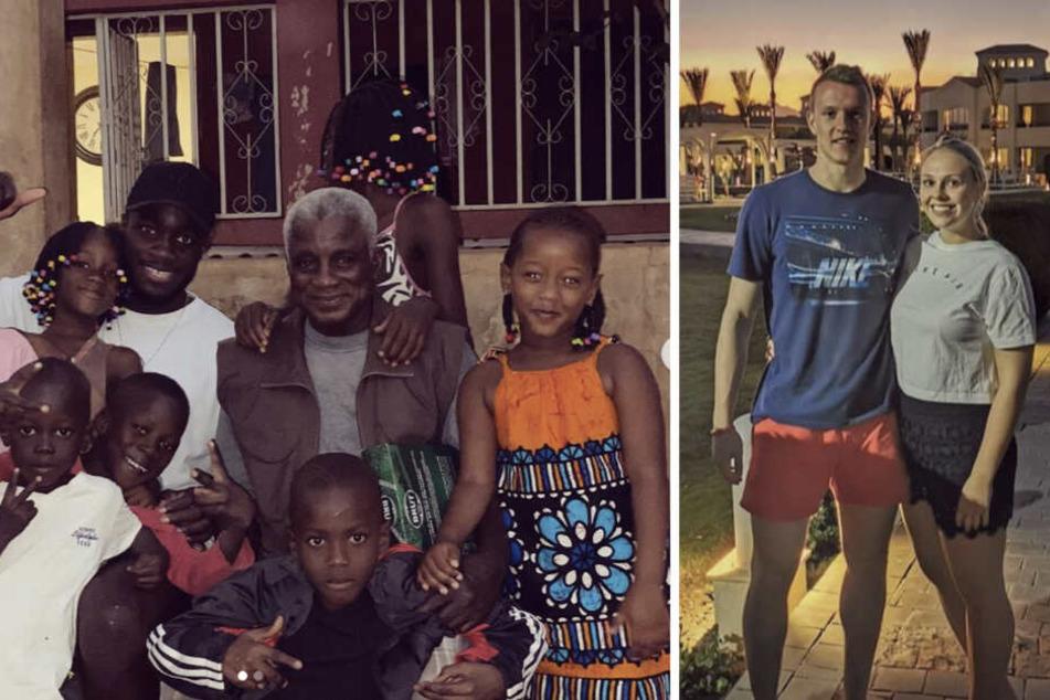 Dayot Upamecano besuchte seine Familie in Guinea-Bissau, Lukas Klostermann war mit Freundin Laura in Hurghada.