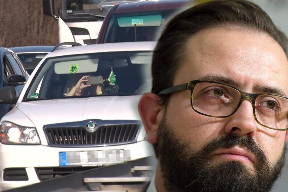 Weil sie bei Unfällen Fotos machen: Justizminister will höhere Strafen für Gaffer