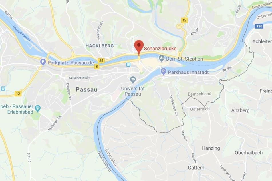In Passau wäre es in der Nähe der Schanzlbrücke beinahe zu einer Vergewaltigung gekommen.