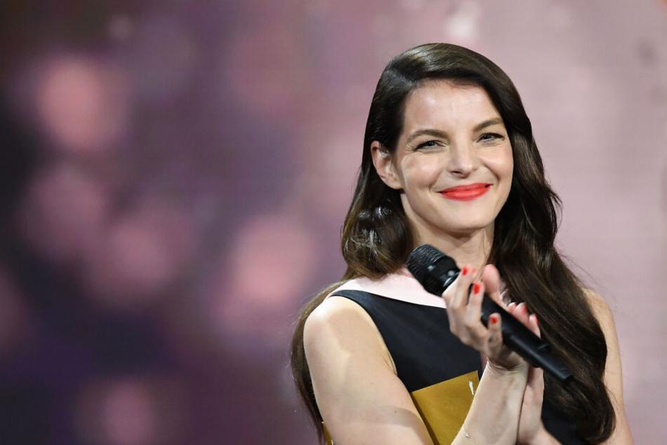 Yvonne Catterfeld vor wenigen Wochen bei der Verleihung des Filmpreis in Berlin.