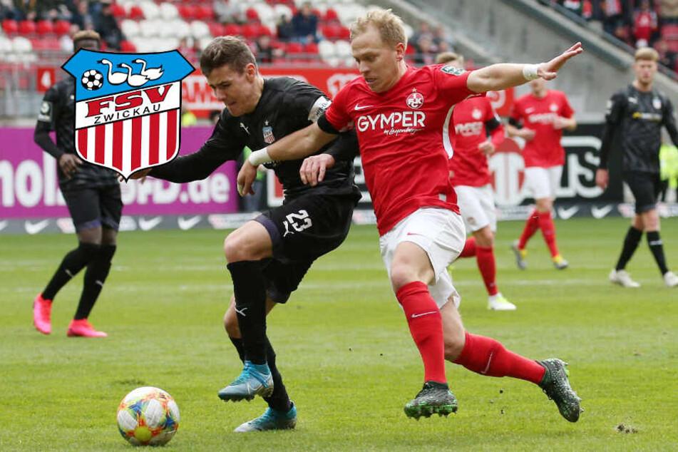 FSV Zwickau holt einen Punkt in Kaiserslautern