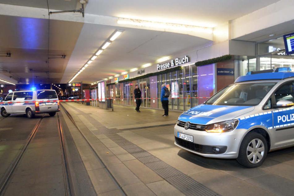 Im und um den Erfurter Hauptbahnhof war die Polizei im Einsatz. (Symbolbild)