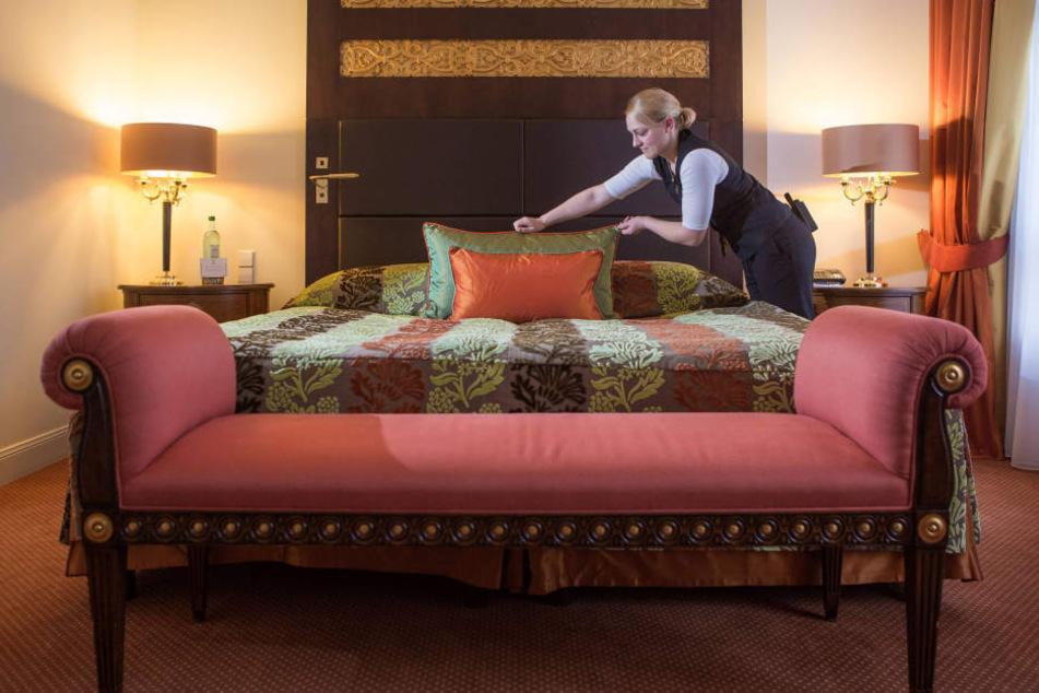 """Sogar im edlen """"Bülow Palais"""" im Dresdner Barockviertel kann für wenig Geld luxuriös übernachtet werden."""