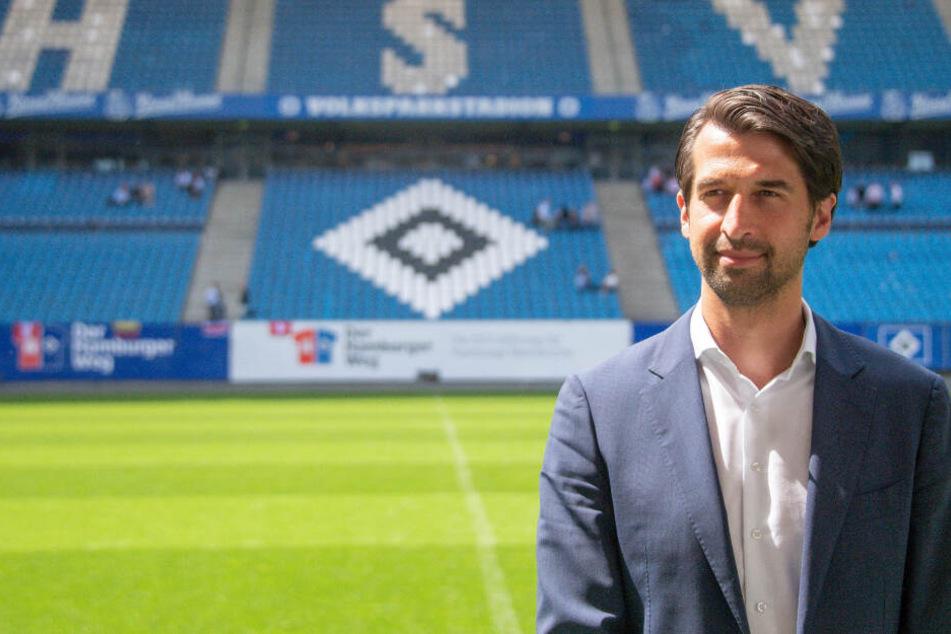 Jonas Boldt steht beim HSV vor einer schweren Aufgabe.