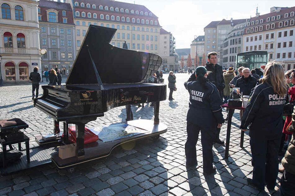 Nicht jeder ist von den Künstlern in der Innenstadt begeistert.