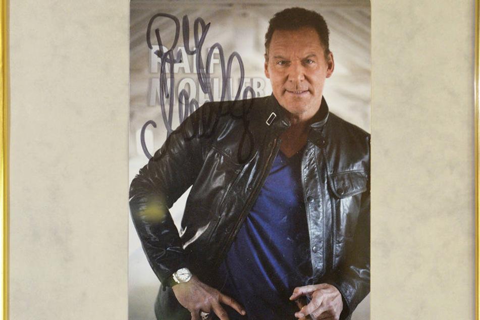 Auch Hollywood-Star Ralf Möller ist an der Wand verewigt...