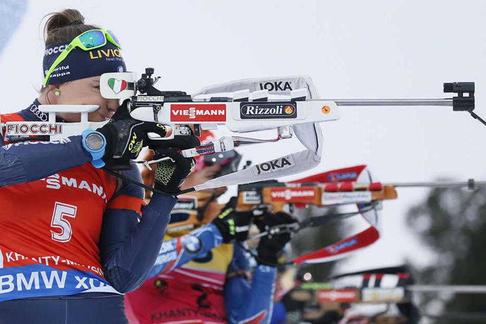 Oberhof richtet auch wieder einen Biathlon-Weltcup aus.