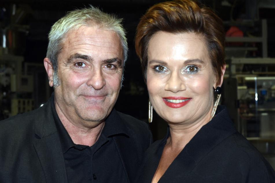 Jenny Jürgens (r.) mit ihrem Ehemann David Carreras.