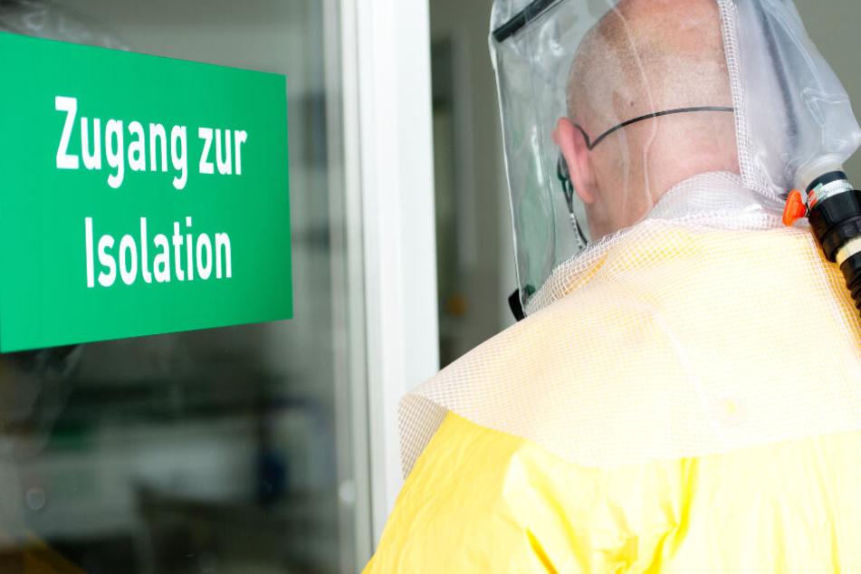 Inzwischen sind in Bayern acht am Coronavirus erkrankte Menschen bestätigt. (Symbolbild)