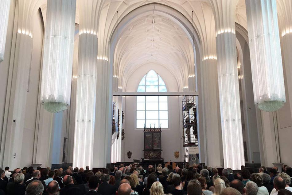 Am Mittwoch fand im neuen Paulinum die Bauabschluss-Feier im festlichen Rahmen statt.