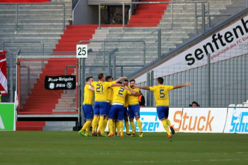 Zuerst konnten die Leipziger über eine 2:0-Halbzeitführung jubeln.