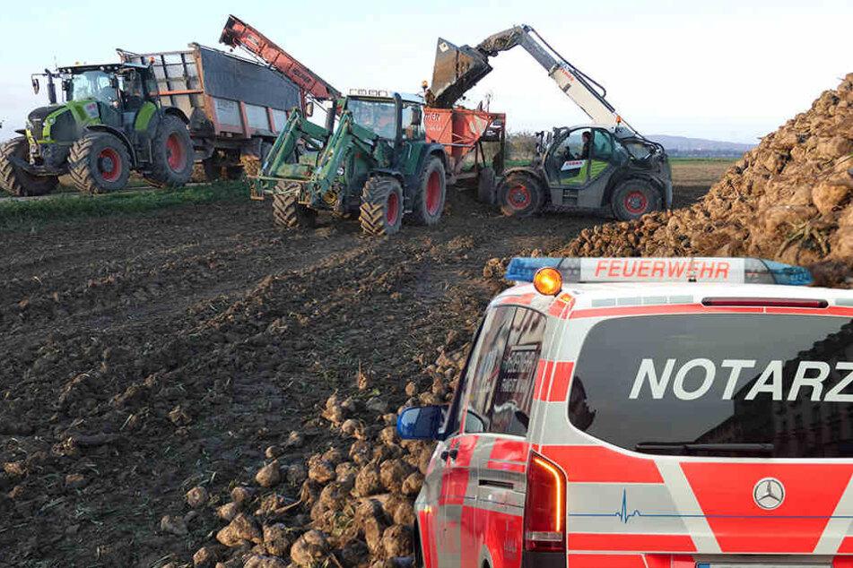 In Baden-Württemberg ist ein Landwirt in einer Biogasanlage gestorben. (Symbolbild)