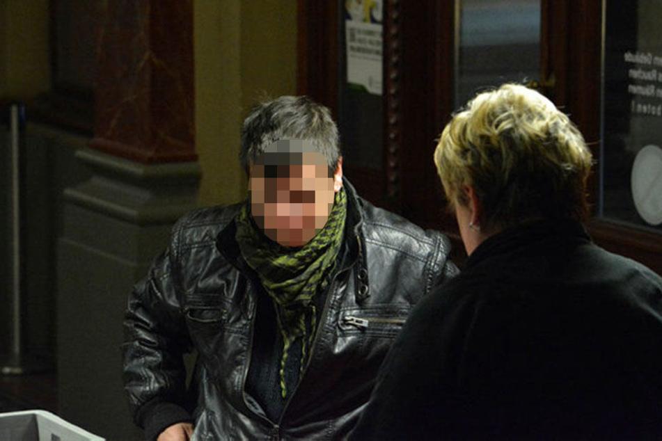 Patrick E. (34) war mal eine Frau - und damals die Freundin des  Angeklagten.