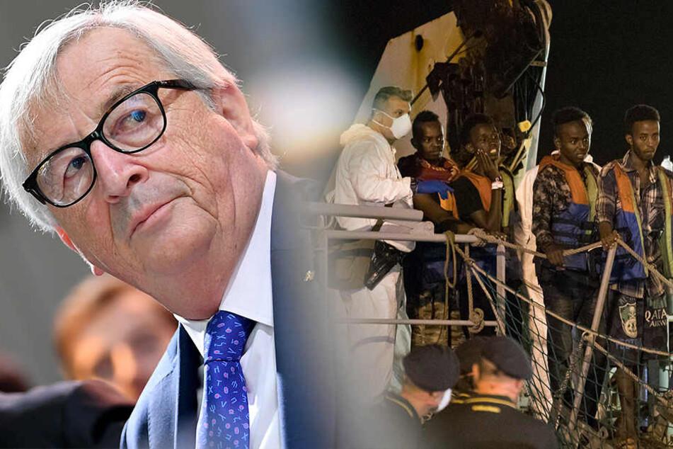 """Juncker spricht von """"Heuchelei"""" beim EU-Grenzschutz"""