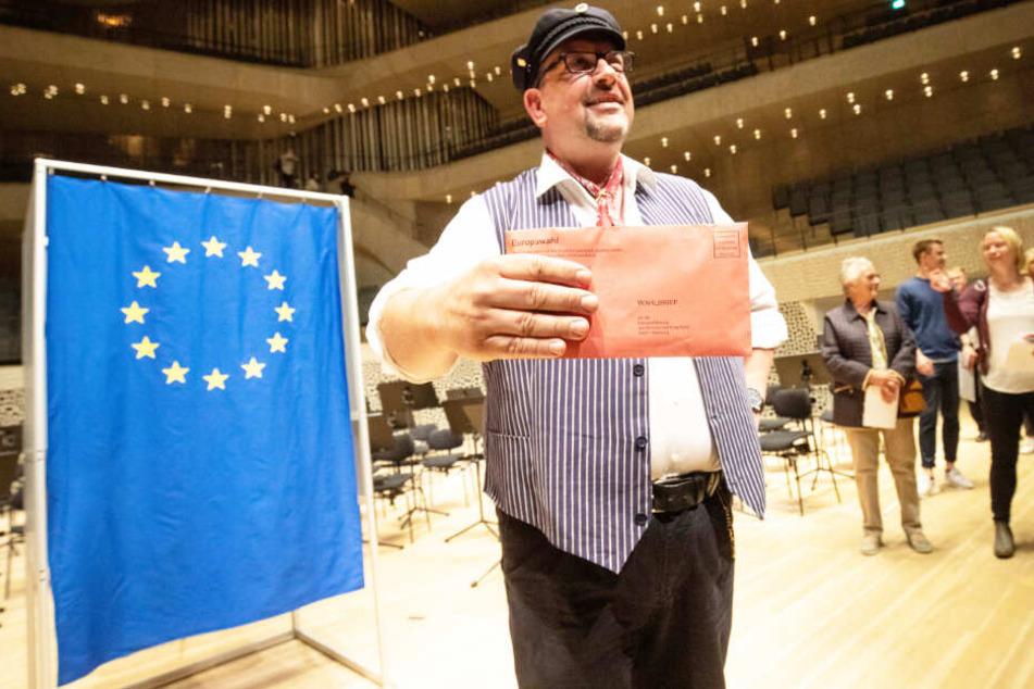 Grüne stellen bei Europawahl SPD deutlich in den Schatten