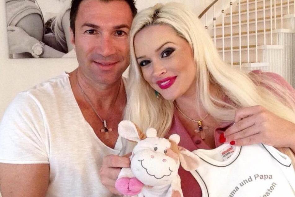 Lucas Cordalis (51) und seine Daniela (32), als sie vor drei Jahren Nachwuchs bekamen.