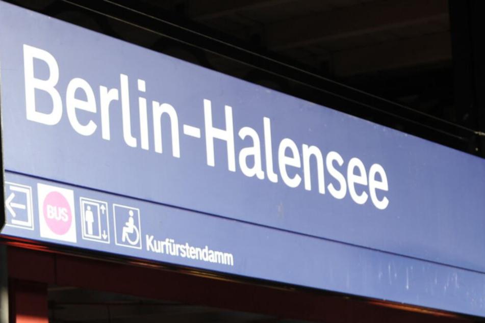Ganz in der Nähe der S-Bahn-Station Halensee ereignete sich der Unfall. (Symbolbild)
