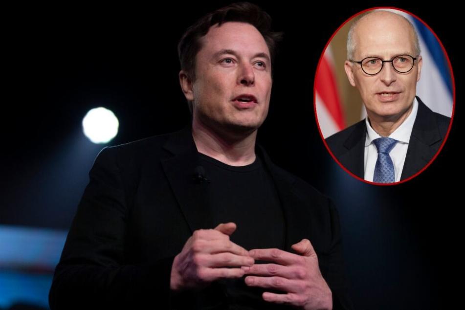 Tesla-Chef auf 180! Elon Musk mit Wut-Anruf beim Hamburger Bürgermeister