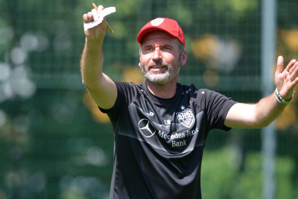 Der neue VfB-Coach: Tim Walter.