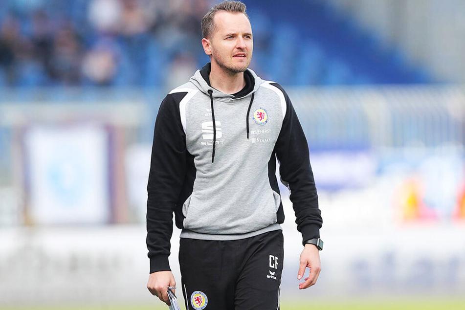 Der bisherige Co-Trainer Christian Flüthmann wurde von Eintracht Braunschweig zum Cheftrainer befördert.