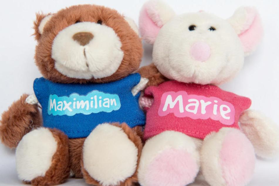 2017 nannten Eltern Maximilian und Marie am häufigsten.